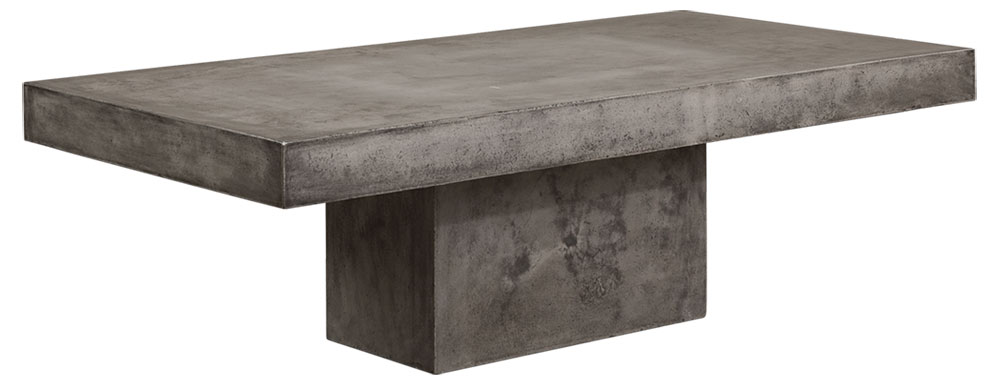 CAMPOS  Coffeetable Rect. Concrete Grey (SPS)
