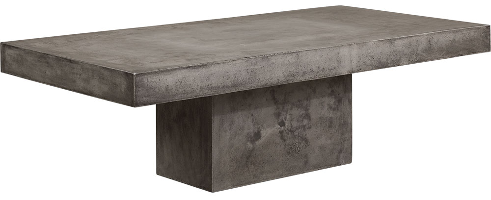 CAMPOS Coffeetable Big Rect. Concrete Grey (SPS)
