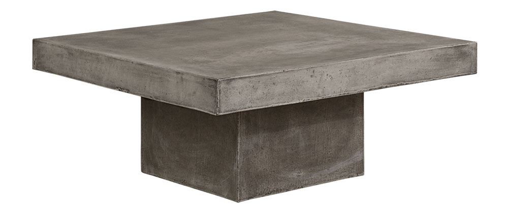 CAMPOS Coffeetable Square Concrete Grey (SPL)