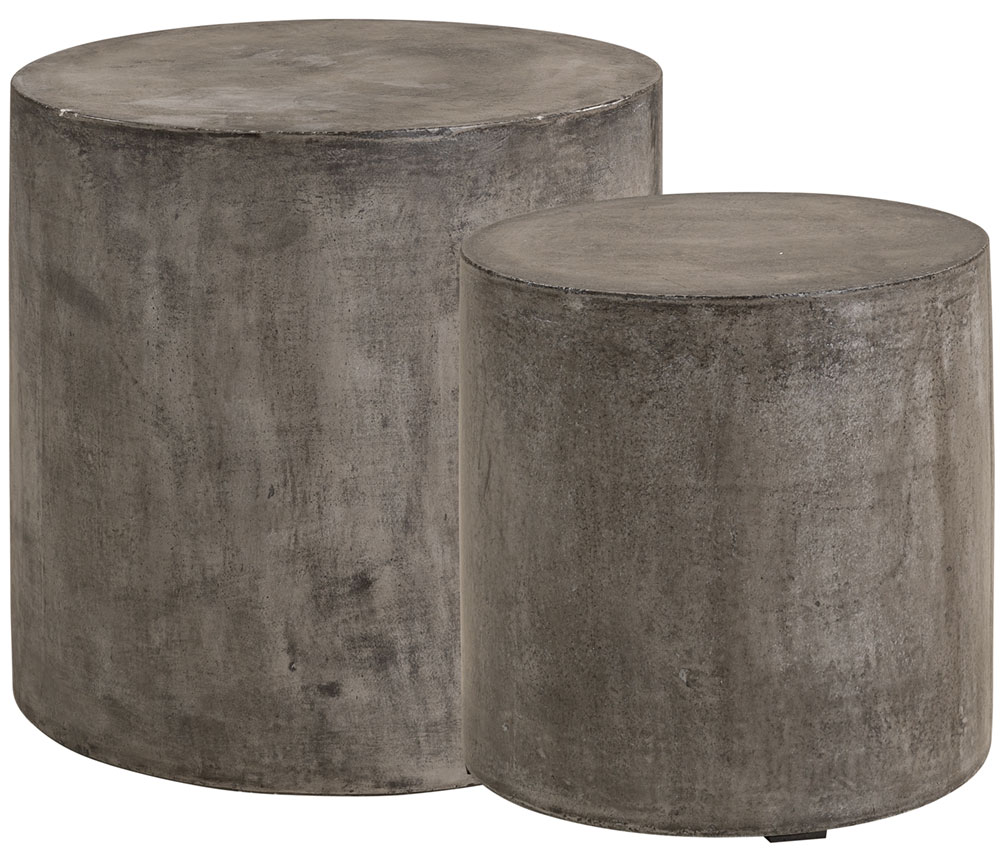 DOLOMA Sidetable 2-s Concrete Grey (HP)