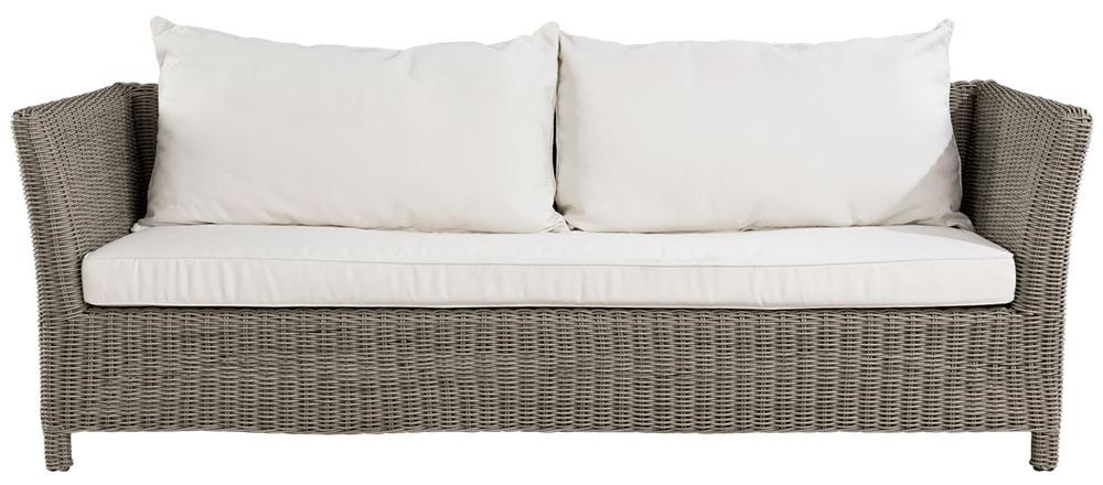 AGUSTA OUTDOOR 3-s sofa inkl dyna