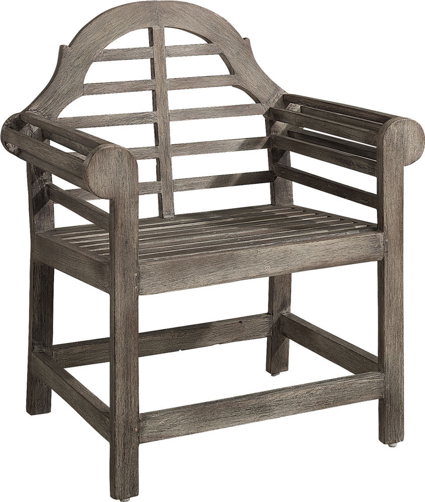 vintage od armchair grey teak - annorlunda möbler