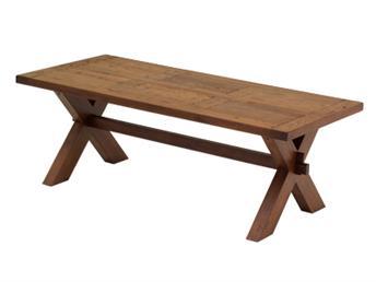 Matbord med kryssben
